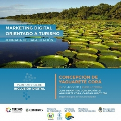 "Realizarán Taller de ""Marketing Digital para pueblos turísticos"""
